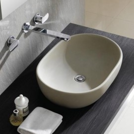 Lavabo Toulouse (Acabado Natural) 590x415x145mm