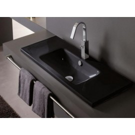 Lavabo Montevideo Negro 810x460x160mm