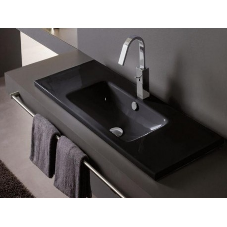 Lavabo Montevideo Negro 1010x460x160mm