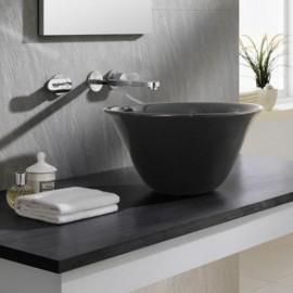 Lavabo Nordic Negro 420x220mm