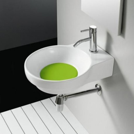 Lavabo Marsella Verde 400x500x130mm