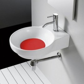 Lavabo Marsella Rojo 400x500x130mm