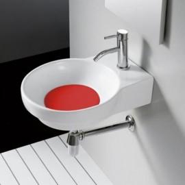 Lavabo Marsella Rojo 400x500x130mm
