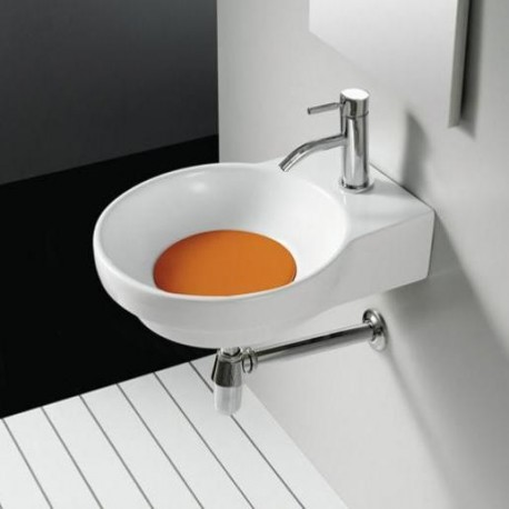 Lavabo Marsella Naranja 400x500x130mm