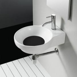 Lavabo Marsella Negro 400x500x130mm