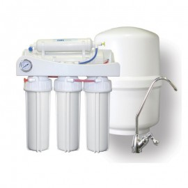 Equipo Osmosis Inversa 5 Etapa + Manómetro (TOP-UNO)