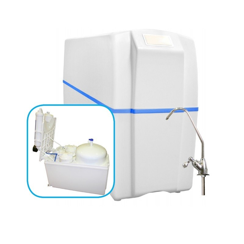 Equipo compacto de osmosis inversa 5 etapas ro 500 for Equipo de osmosis