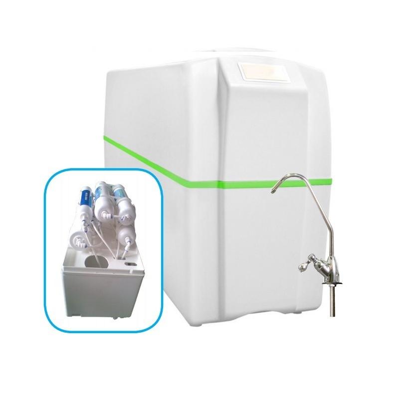 Equipo compacto de osmosis inversa 5 etapas ro 5 for Equipo de osmosis