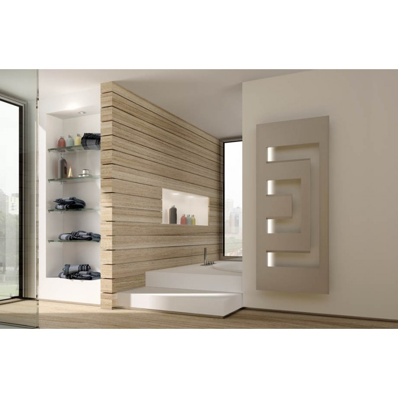 Radiador toallero dedalo model l electrico de irsap for Toalleros electricos cromados