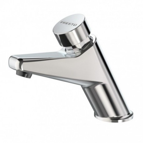 Grifo temporizado Presto 105 - L para lavabo de un agua