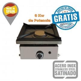 Cocina a Gas Sobremesa alta potencia 1 Fuego 6 Kw