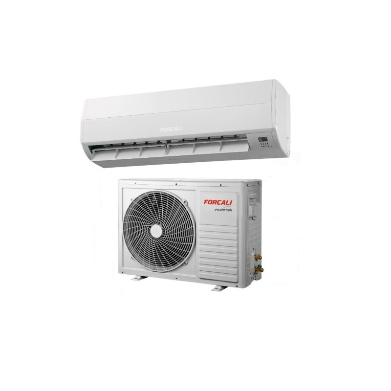 Aire acondicionado split 1x1 inverter forcali de for Bomba de calor inverter
