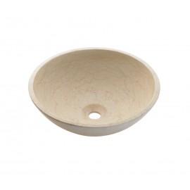 Lavabo en piedra Catania Beige 405x120mm