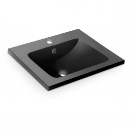 Lavabo Montevideo Negro 610x460x160mm