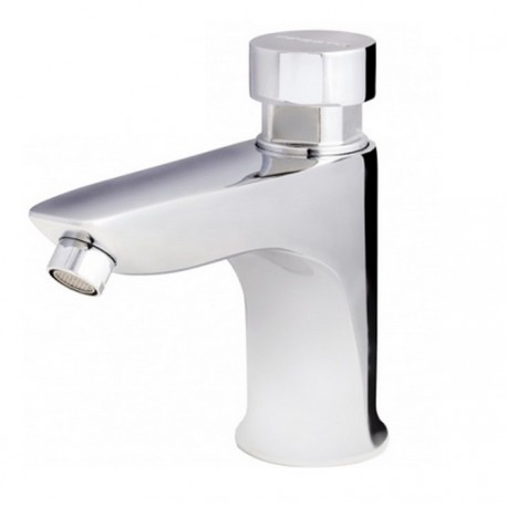 Grifo temporizado Presto ECO XT-L para lavabo de un agua