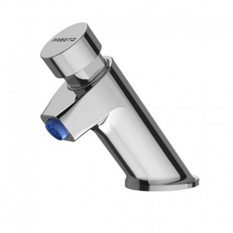 Grifo temporizado Inclinado Presto XT-LI para lavabo de un agua