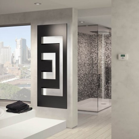 Radiador toallero dedalo model l electrico de irsap - Toallero electrico de pie ...