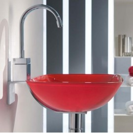 Lavabo en cristal Rs 300x300x120mm