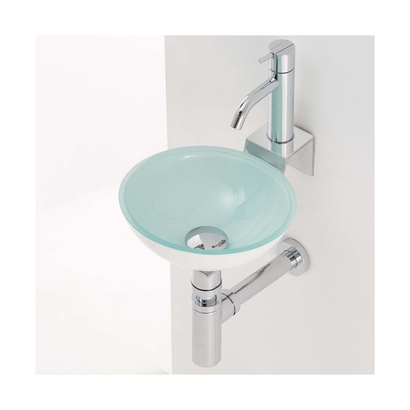 Lavavos de cristal elegant refserie castellon with - Lavabo de cristal ...