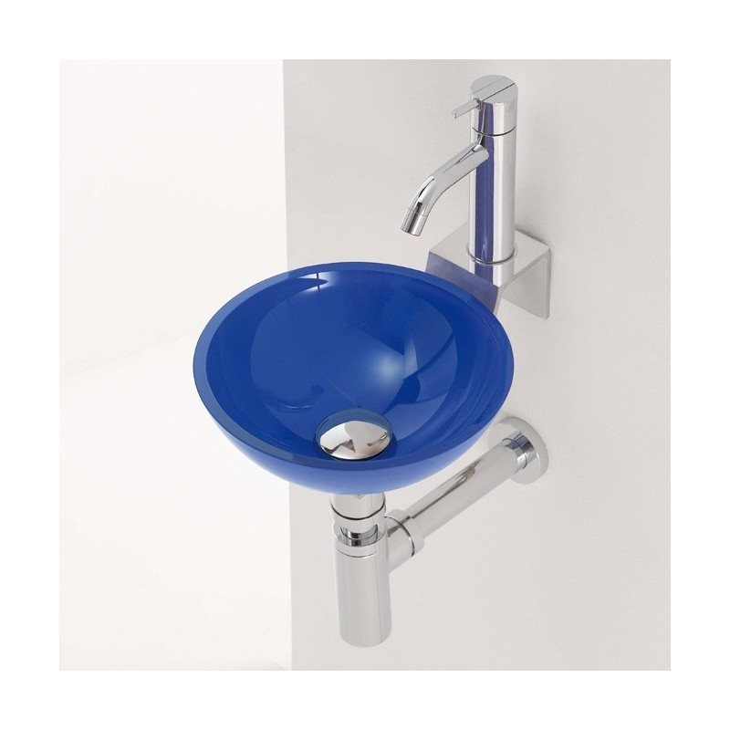 Lavabo en cristal rs3 270x100mm grifer as rome - Encimera lavabo cristal ...