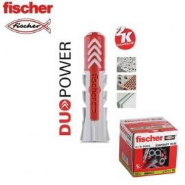 Taco DuoPower 10x50 Fischer (50 Unids.)