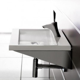 Lavabo en resina Manhattan 1000x450x70 mm