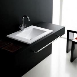 Lavabo en resina Montecarlo 600x450x180mm