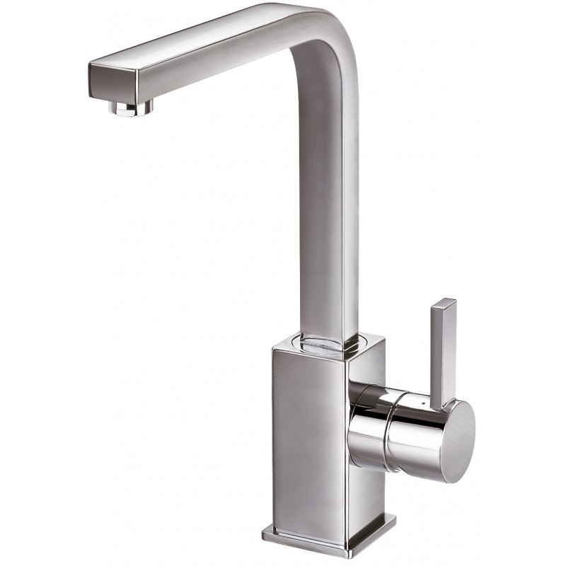 Grifo monomando lavabo alto bimini clever for Grifo alto lavabo