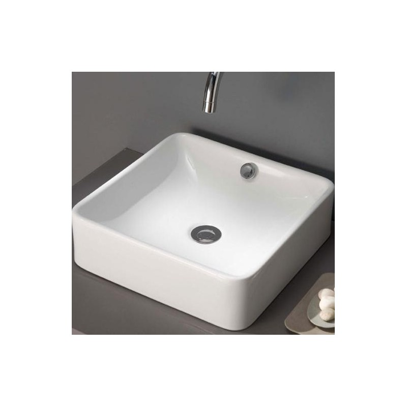 Lavabo park 400x400x120 mm grifer as rome for Aufstellpool 400 x 120