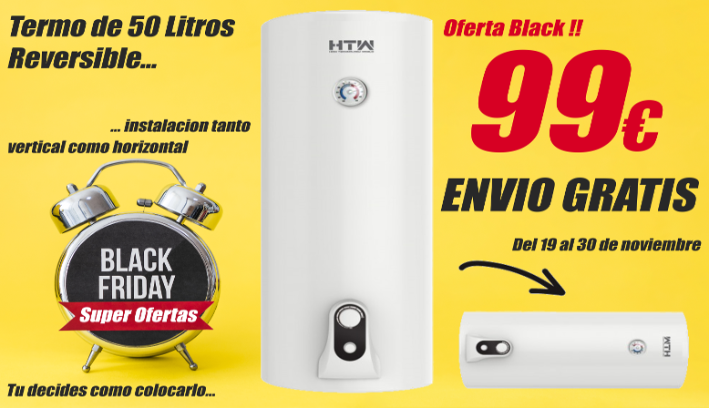 Termo Advance HTW de 50 litros
