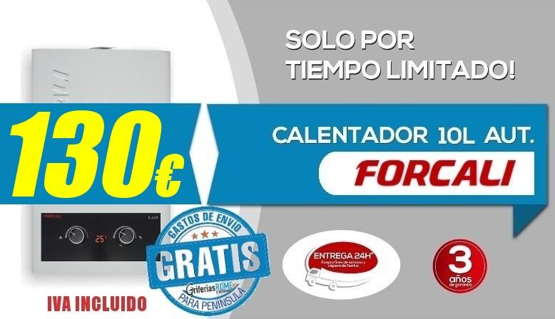 Calentadores  Forcali